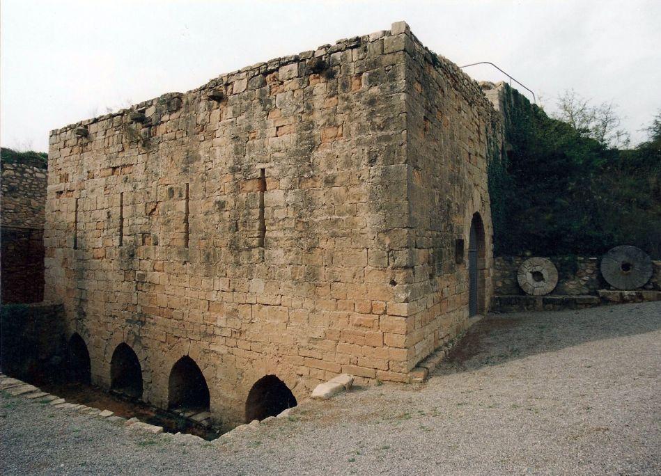 Extérieur du moulin de la Volta.