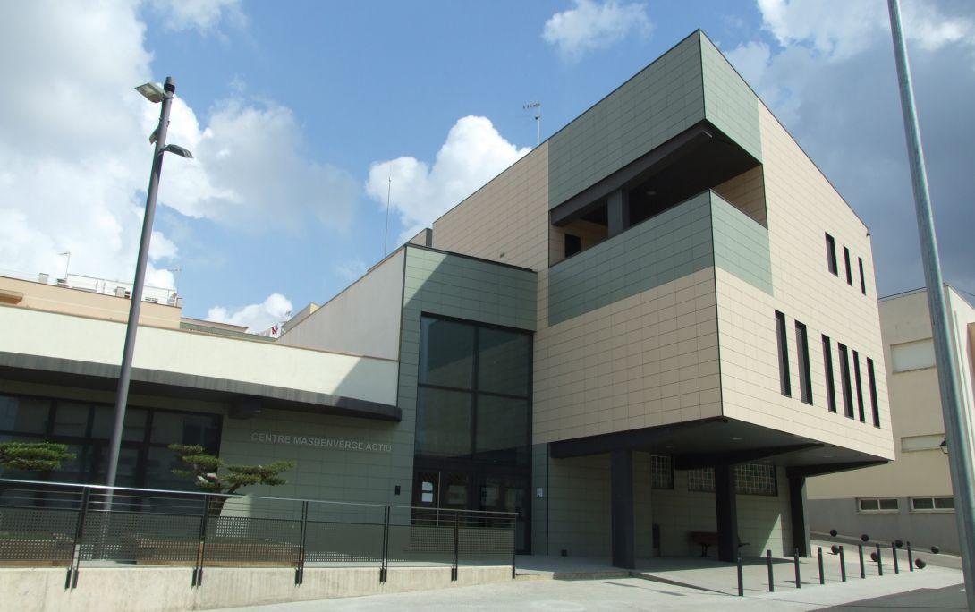 El Centre d'Interpretació Viure al Poble, ubicat a la planta baixa de l'edifici Masdenverge Actiu.