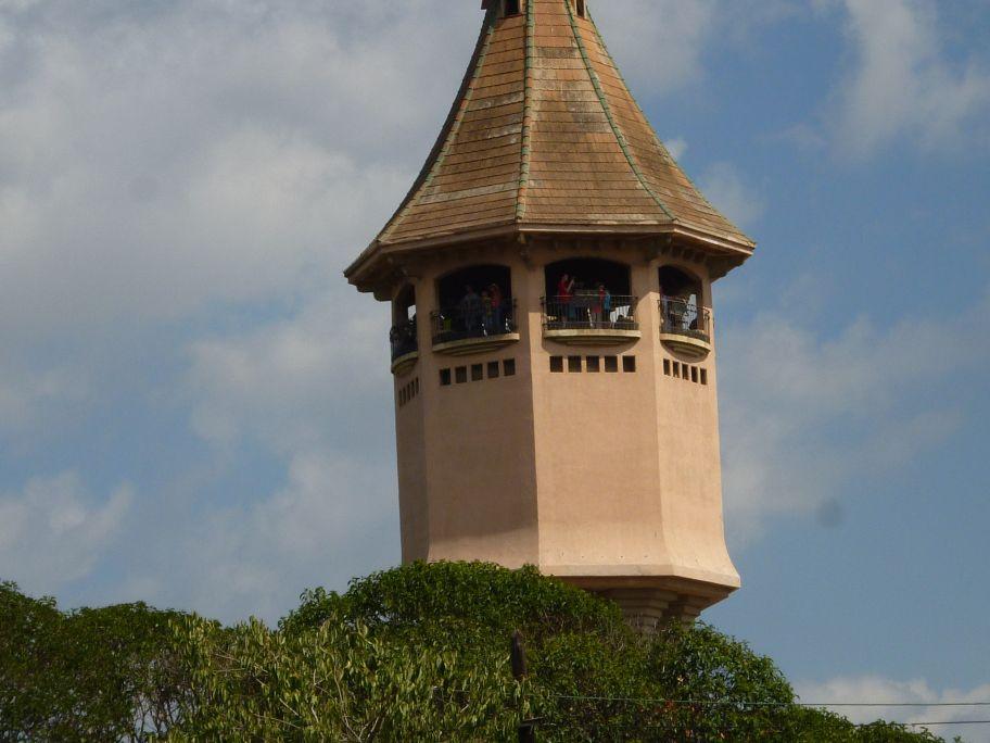 La Tour d'eau, l'un des signes d'identité de la ville de Sabadell