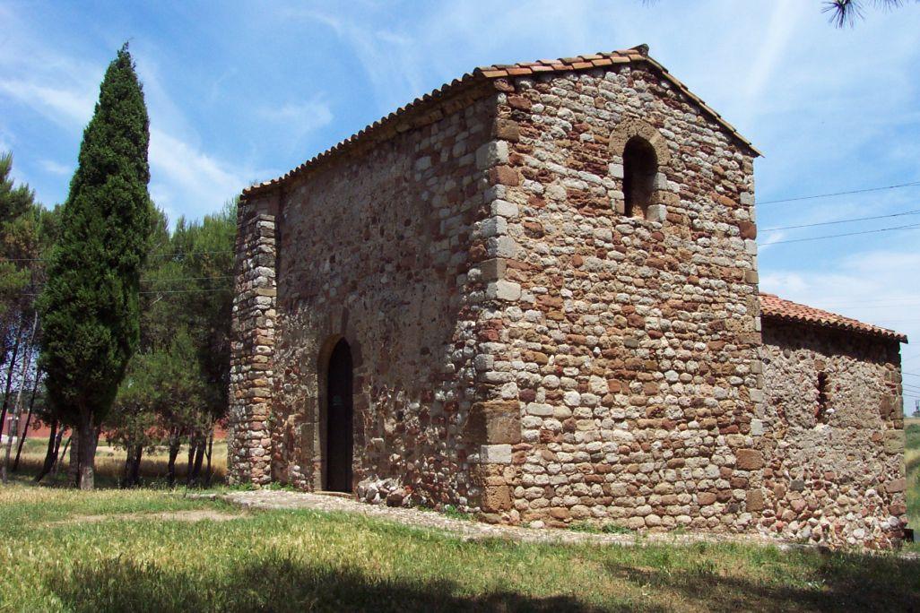 View of the Romanesque Chapel of Sant Nicolau
