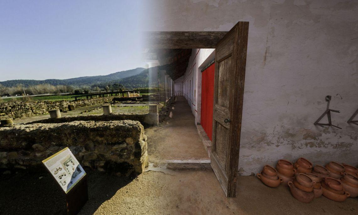 Imatge de la visita virtual a Vilauba (Dani Baños)