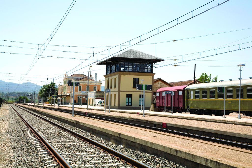 El Centre d'Interpretació es troba situat a les antigues instal·lacions ferroviàries de Móra la Nova.