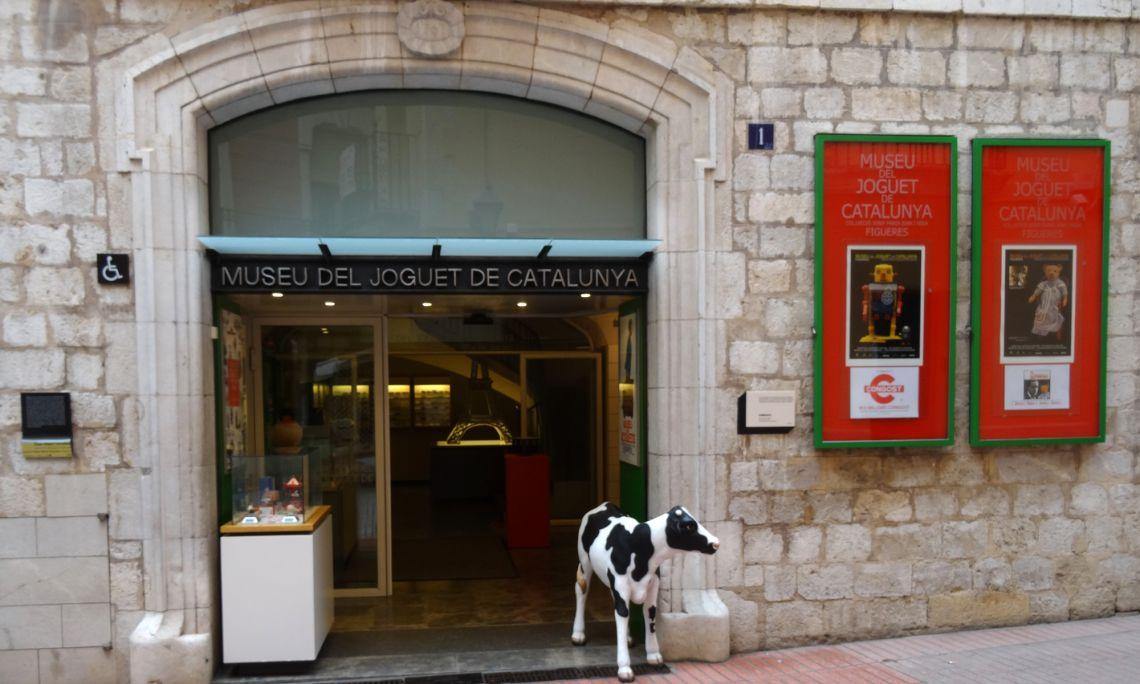 La Casa Terradas, construïda el 1767, acull des del 1982 el Museu del Joguet de Catalunya. Foto © MJC