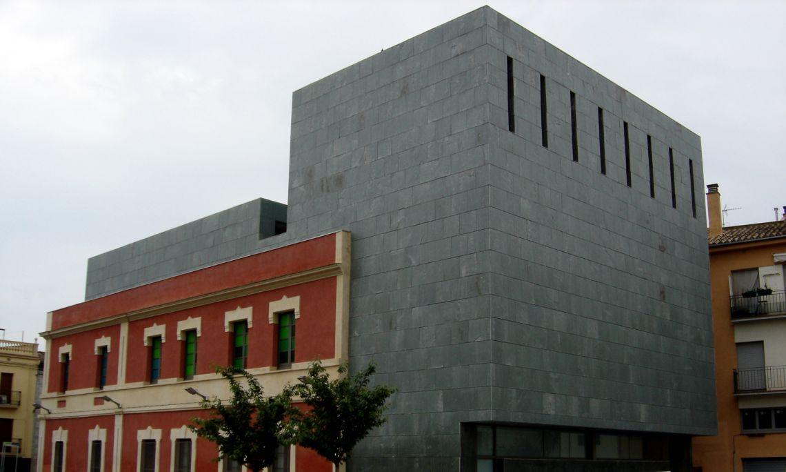 El nou edifici del Museu Darder, reformat l'any 2007.