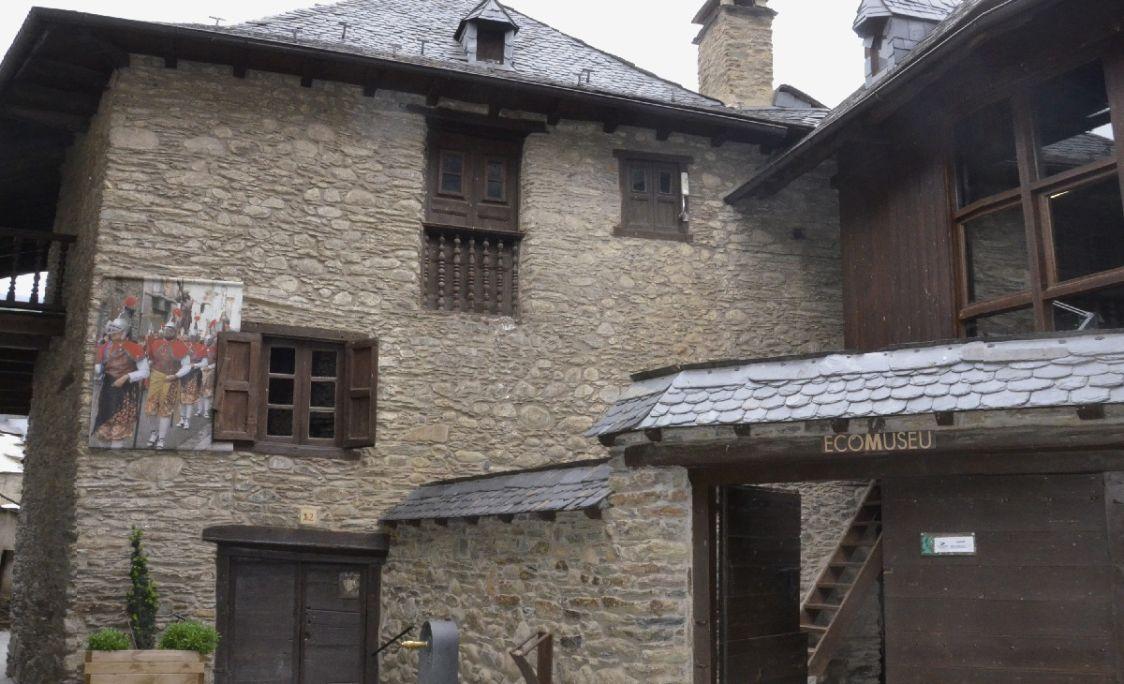 Casa Gassia d'Esterri d'Àneu és la seu de l'Ecomuseu.