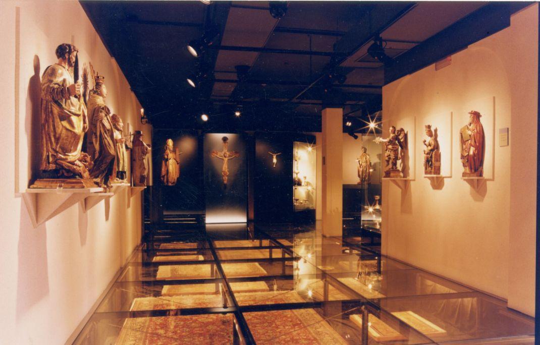 Sala de les catifes del Museu Deu.