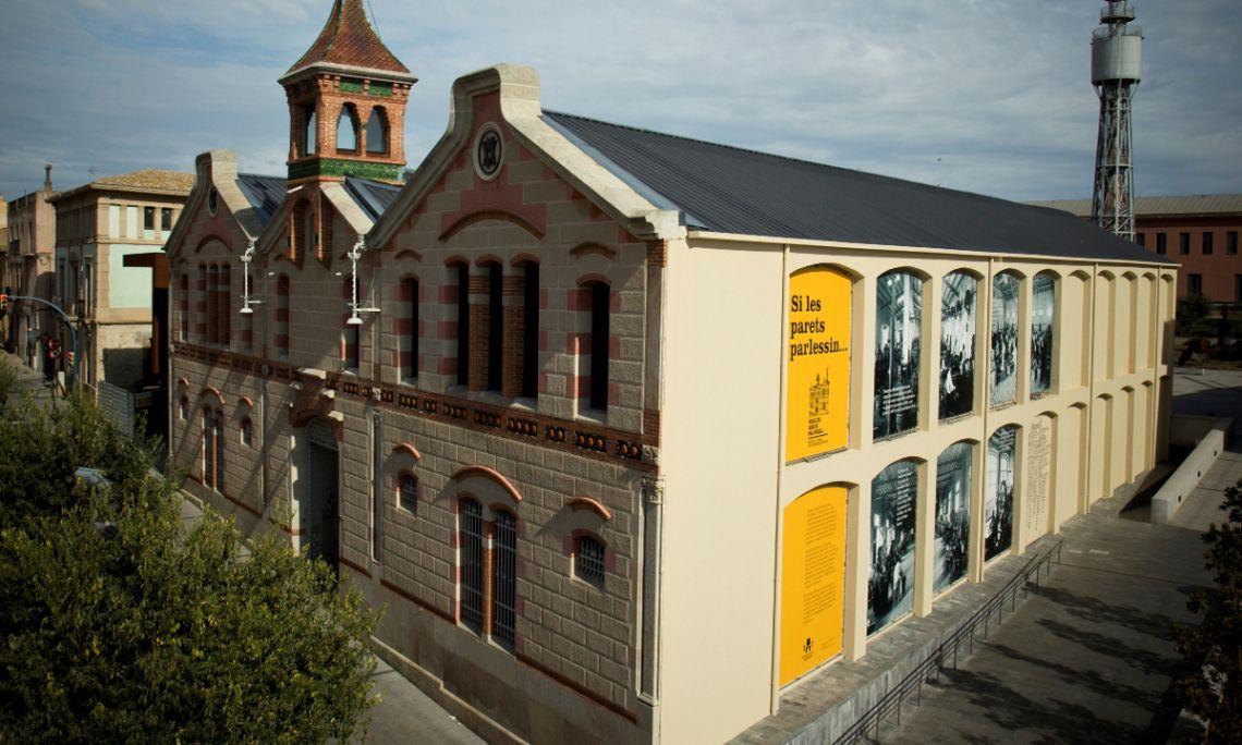 El Museo del Corcho de Palafrugell se sitúa en la antigua fábrica modernista de Can Mario. Archivo de Imágenes Museo del Corcho de Palafrugell.