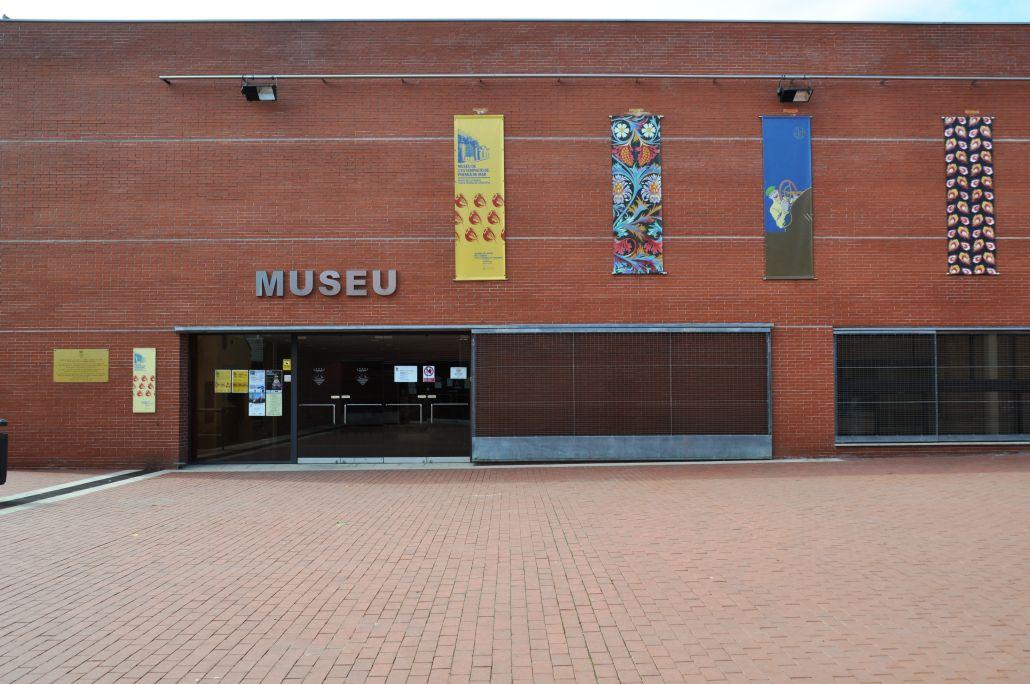 Entrée du musée de l'impression textile de Premià de Mar
