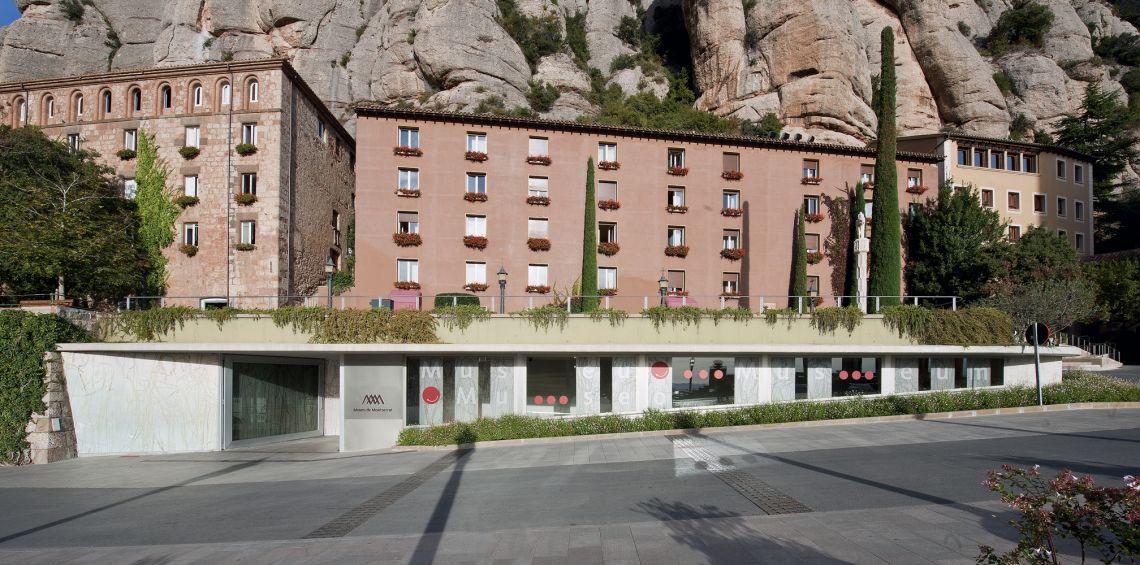 Accès au musée de Montserrat.