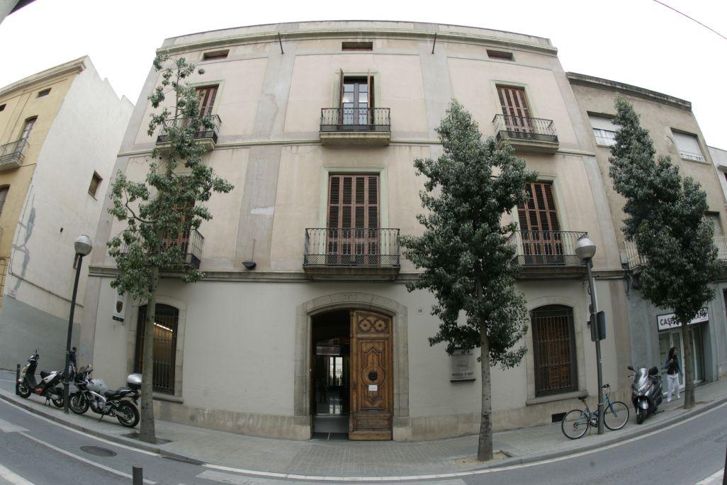 Façana del Museu d'Art de Sabadell