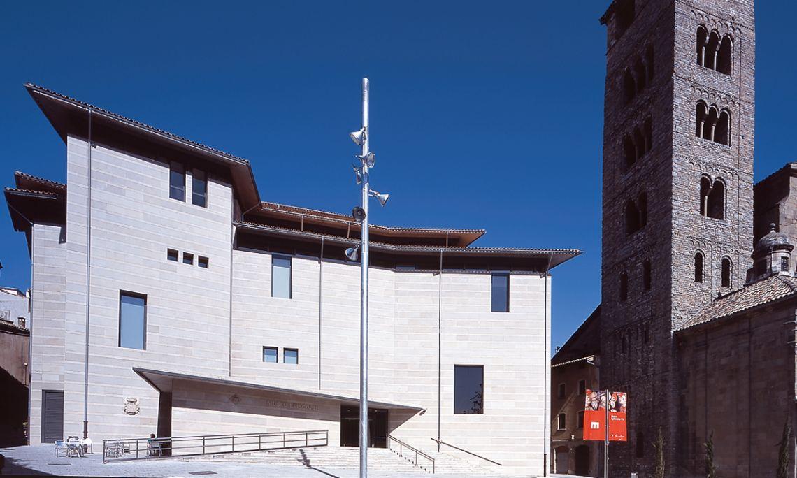 Façade of the Vic Episcopal Museum