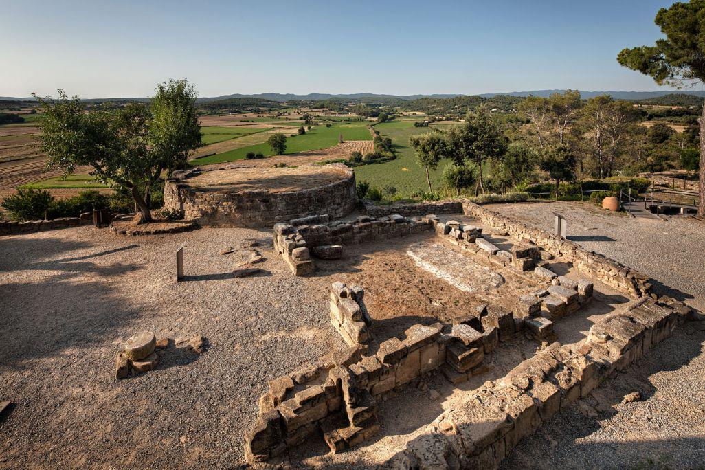 Iberian settlement at Puig de Sant Andreu d'Ullastret