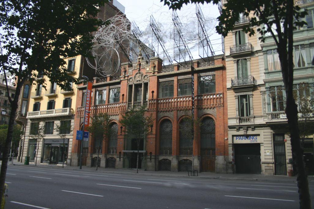 Fundació Antoni Tàpies,Barcelona.