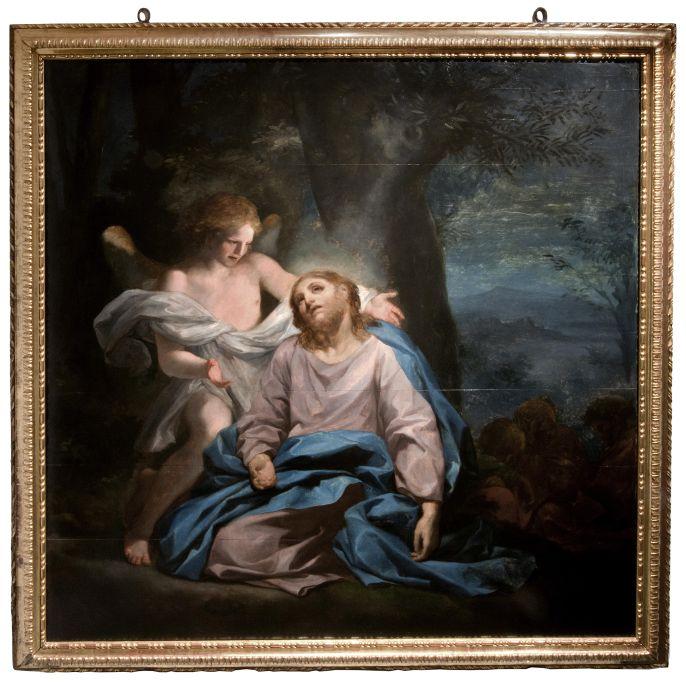 L'Oració a l'hort és obra d'un dels principals pintors europeus del moment, Anton Rafael Mengs.