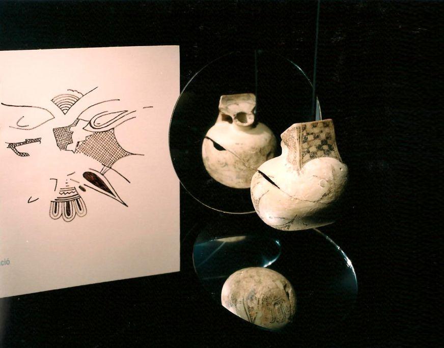 Aríbalo de origen corintio de Milmanda.