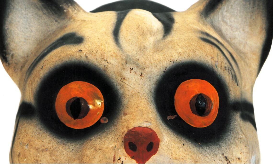 Animals de cartró com aquest van ser un joguet molt popular a principis del segle XX. Foto © Jordi Puig