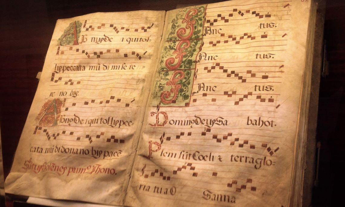 Cantoral del monestir.