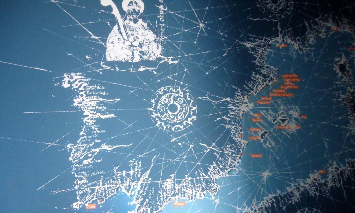 Mapa del Mare Nostrum.