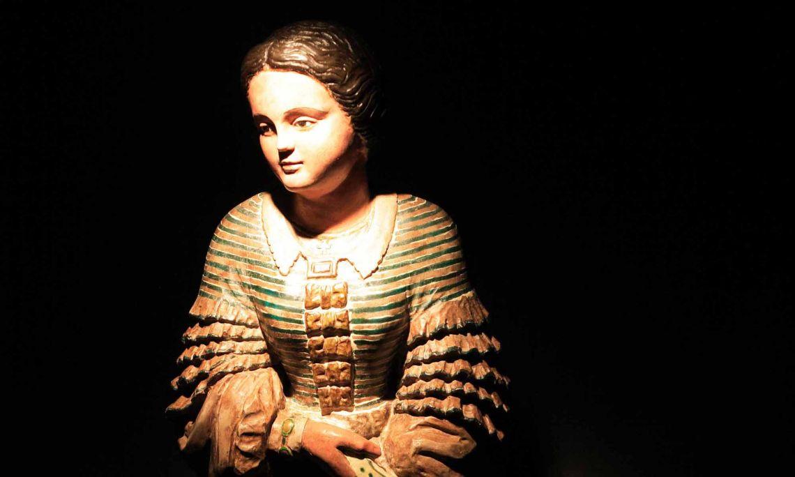 Figurehead from the Blanca Aurora.