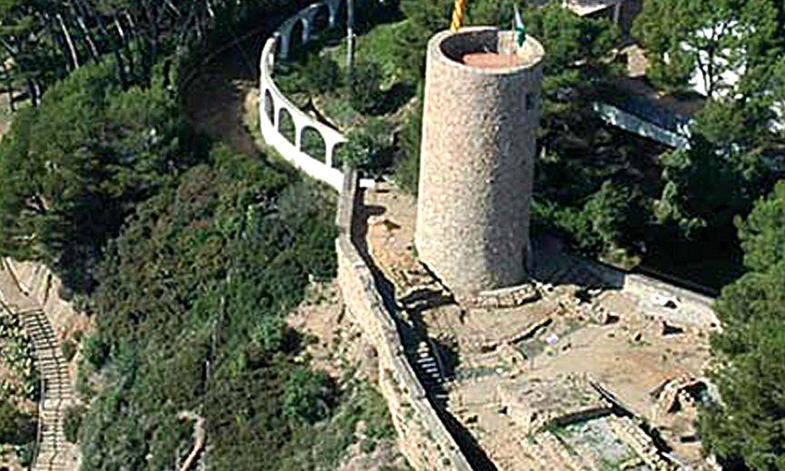 The Castle of Sant Joan.