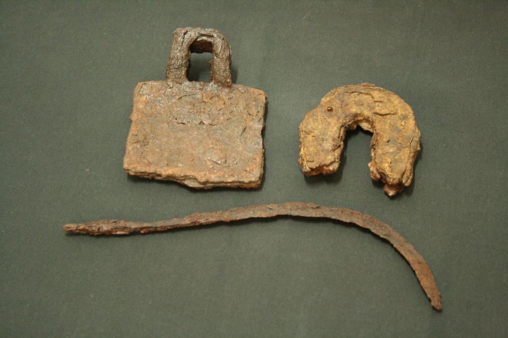 Eines agrícoles medievals recuperades en diferents jaciments de les Terres de l'Ebre.