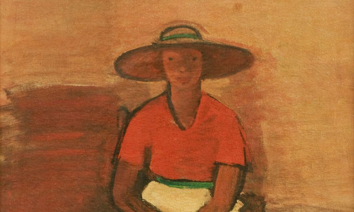 L'anglaise(La inglesa), 1935. Georges Kars (Kralupy, 1882 - Ginebra, 1944).