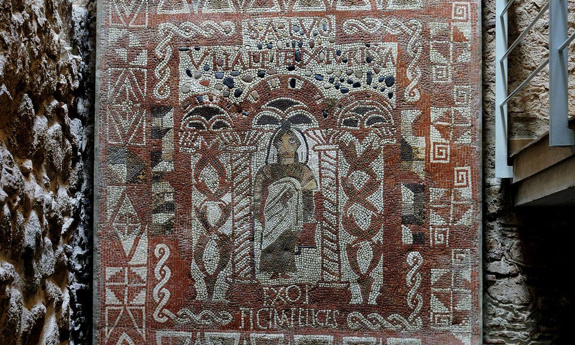 Mosaic d'en Vitalis (s. IV dC).