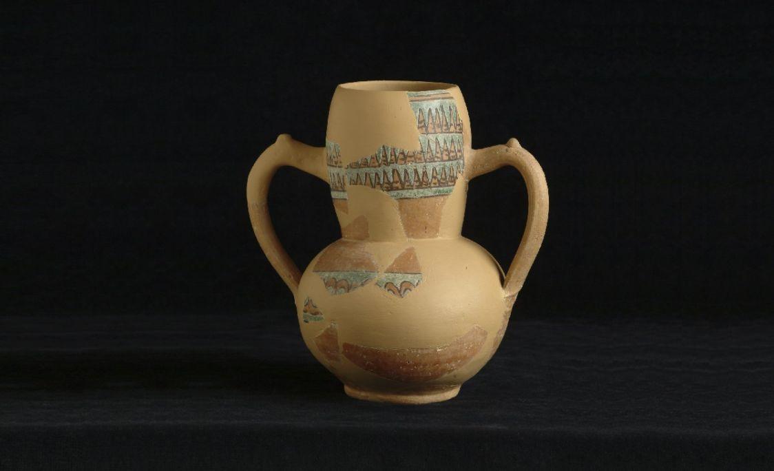 Gerreta procedent del jaciment arqueològic del Pla d'Almatà, primera meitat del segle XI.