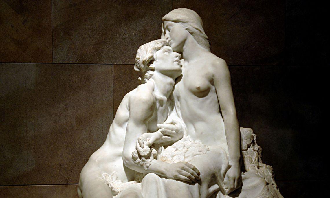 'Eclosió', Miquel Blay, 1905. Marble.