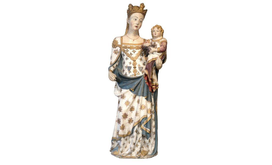 Madonna of Santa Maria de Bellpuig de les Avellanes: a masterpiece by Bartomeu de Robió.
