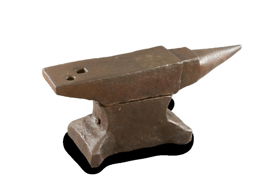 Blacksmith's anvil. Size: 62 x 20 x 30 cm