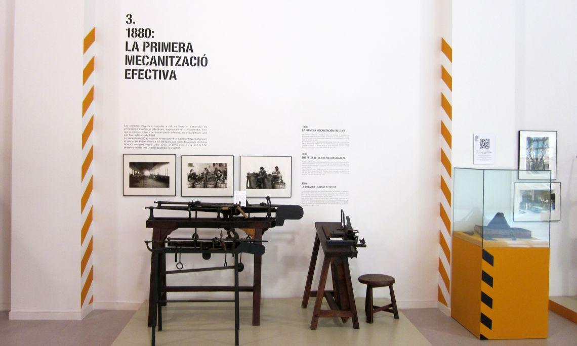 Màquina ribot. Col·lecció Hijos de Benito Planellas. Sant Feliu de Guíxols. Arxiu d'Imatges del Museu del Suro de Palafrugell.