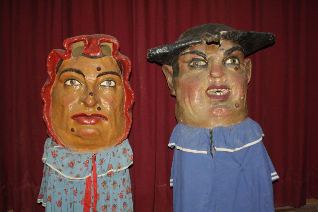 "La parella de ""nanos"" de Montblanc original."