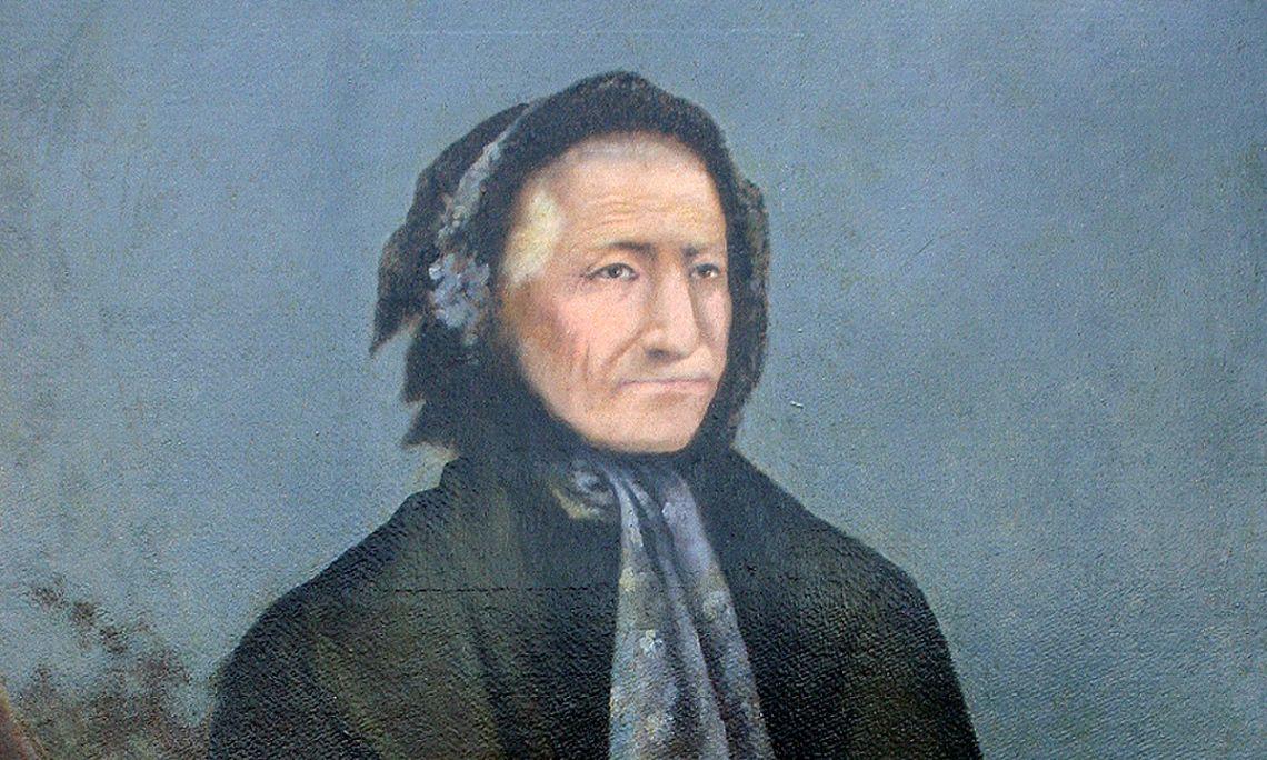 Retrat de Raimunda Nouvilas de Pagès. Fotografia: Clara Oliveras.