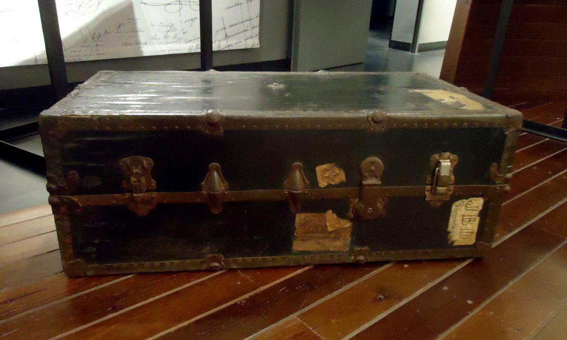 19th century trunk.