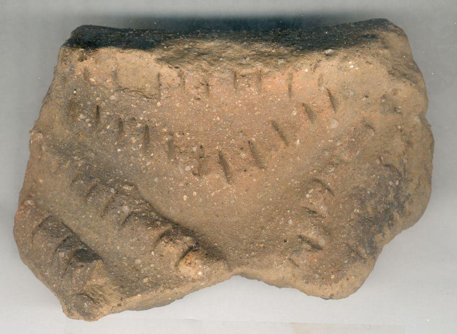 Gran jarra de almacenaje, Edad del Bronce