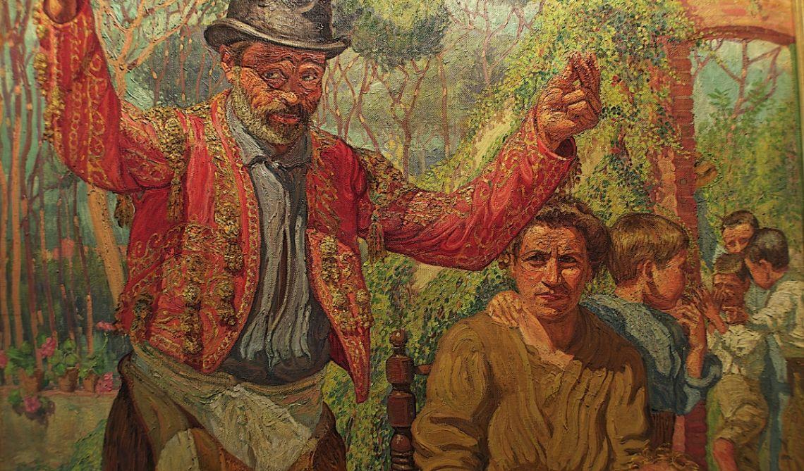 Un borratxo, Josep de Togores i Llach, 1910-1911, Cerdanyola del Vallès, oli sobre tela