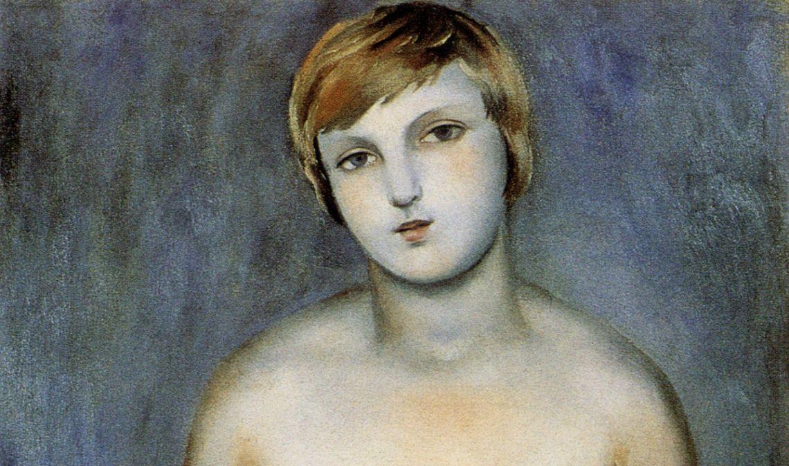 Femme avec raisin, Josep de Togores, 1926, Saint-Tropez, huile sur toile. © Xavi Olivé