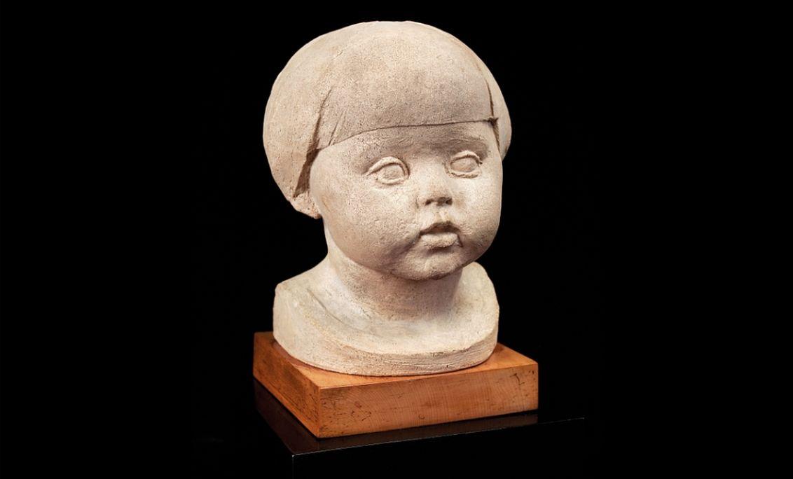 Cap de Tití (Tití's Head), Manolo Hugué, 1927, Prats de Molló. © Jordi Puig