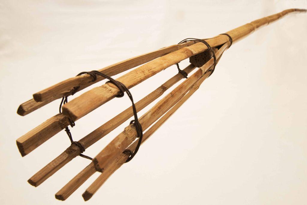 Les badoqueres fetes de canya van ser molt utilitzades durant el segle XX