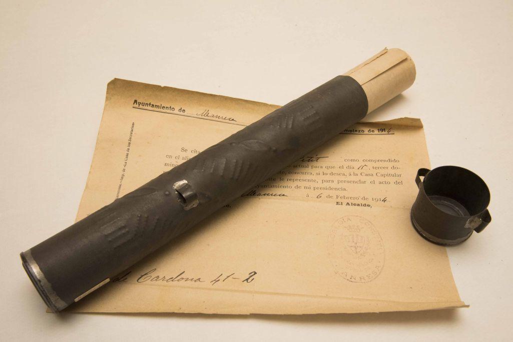 Los portadocumentos militares eran piezas importantes en la trayectoria de los soldados durante los siglos XIX y XX