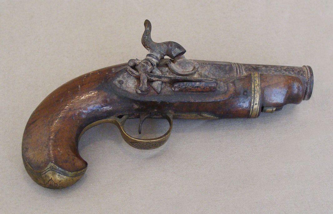 Pistola de viatge, segona meitat del segle XIX