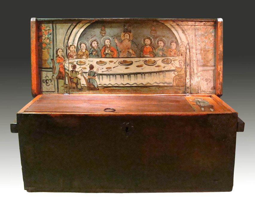 Caja de marinero, siglos XVII-XVIII