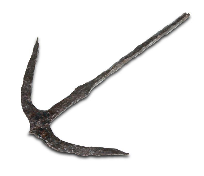 Àncora de ferro, època romana (segle III aC - IV dC). Jaciment: les Sorres (Gavà-Viladecans)