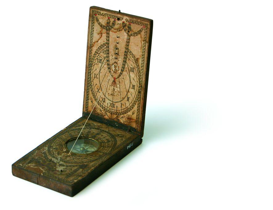Rellotge solar, finals del segle XVIII