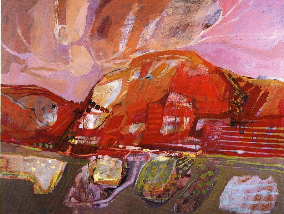 Landscape, Gonzalo Lindín, 1983.