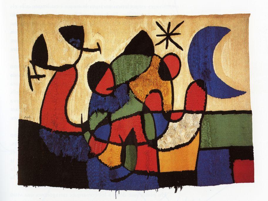 Tapisserie de Tarragone, Joan Miró et Josep Royo, 1970.