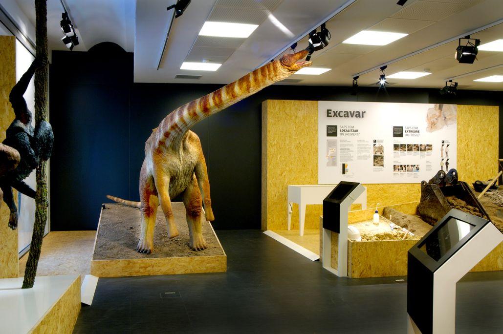 Reconstrucció d'un titanosaure