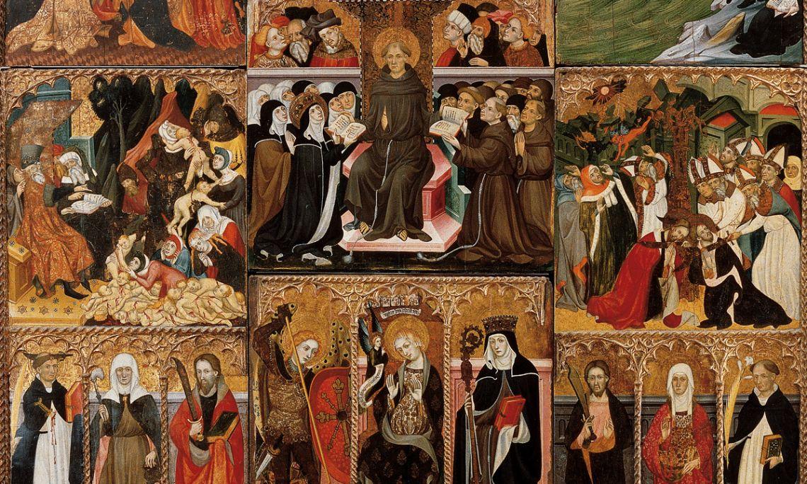 Retable de Santa Clara, Lluís Borrassà, 1414-1445