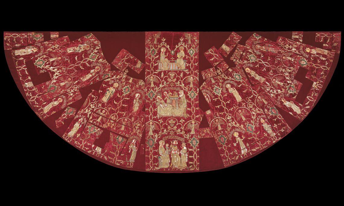 Chape pluviale de l'évêque Bellera, vers 1350-1375
